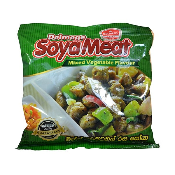 Delmege - Soya Meat Mixed Vegetable Flavour 90g