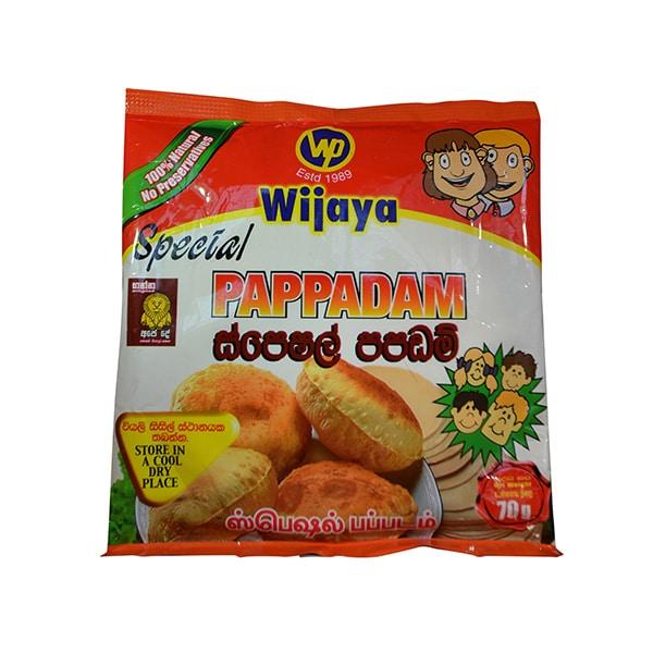 Wijaya - Special Pappadam 70g