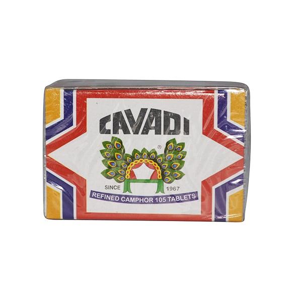 Cavadi - Refined Camphor (105 Tablets)