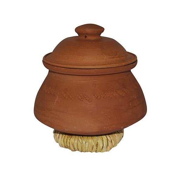 Clay Rice Pot (nr.1) + Lid