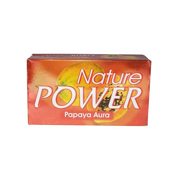 Nature Powder - Papaya Aura Soap 125g