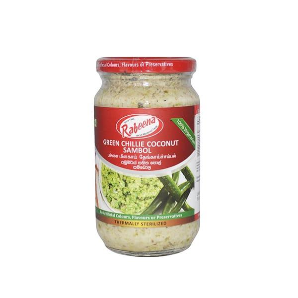 Rabeena - Green Chillie Coconut Sambol 325g
